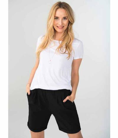 Kaffe Jillian  Shorts i sort 10550208-50600