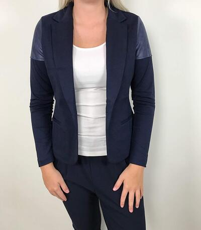 One-Two Fritzine blazer i mørkeblå 6813-383-575