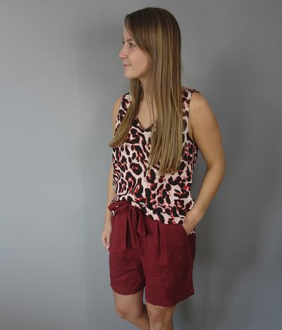 Soaked Lanya top i fired red 30404252