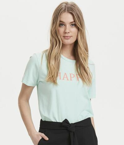 B.Young T-shirt i pastel mint grøn 20805768-80474