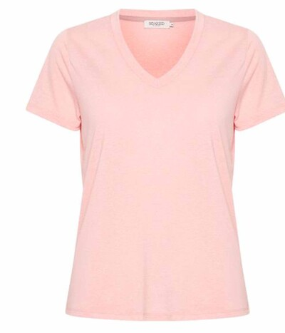Soaked in Luxury T-shirt i pink icing 30403645-43061