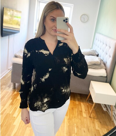 Prepair Mathilde bluse i sort 1286