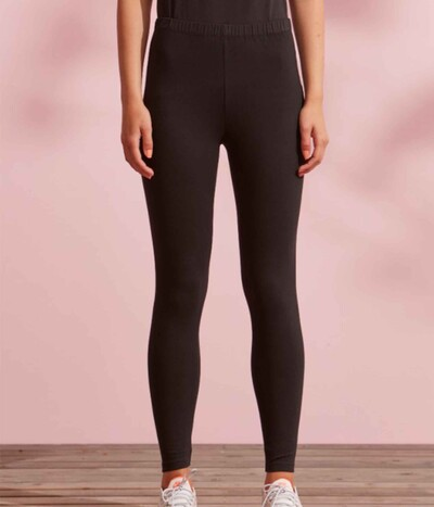 Ze-Ze Malus leggings i sort lang model 5302415-0900