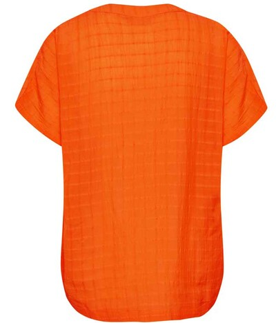 Kaffe wing bluse i orange 