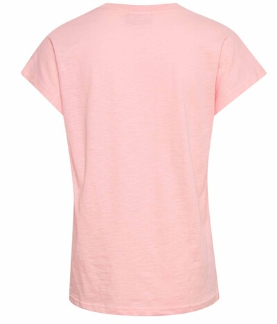 Kaffe Collia T-Shirt i candy pink 10505291-141911
