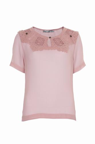 Occupied Bluse i rosa farve 012904-1581