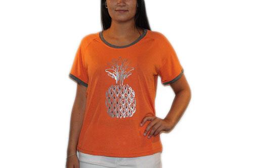 Ze-ZE T-shirt i orange 5304548-221