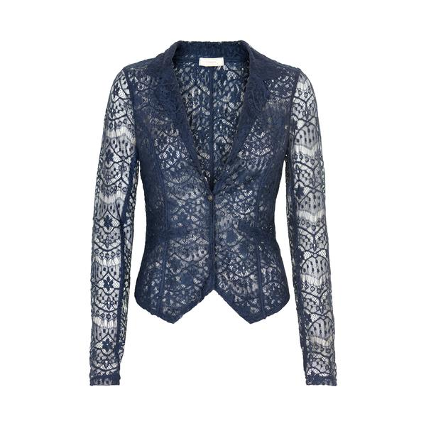 Cream Trinny Lace Blazer 10601163