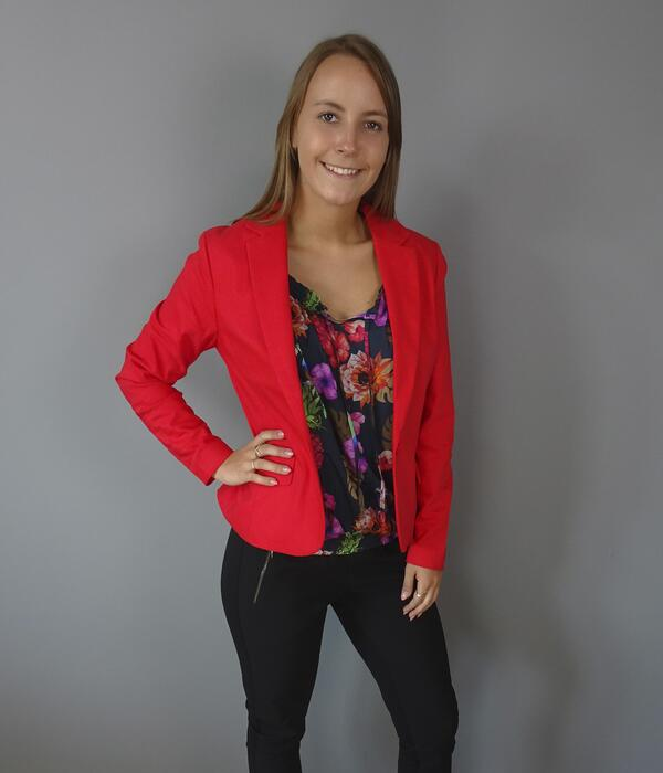 One_Two Cimmie Blazer i fire red 6702-1465-212