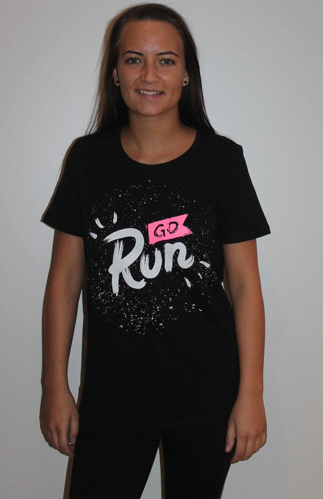 ZE-ZE RUN T-SHIRT I SORT