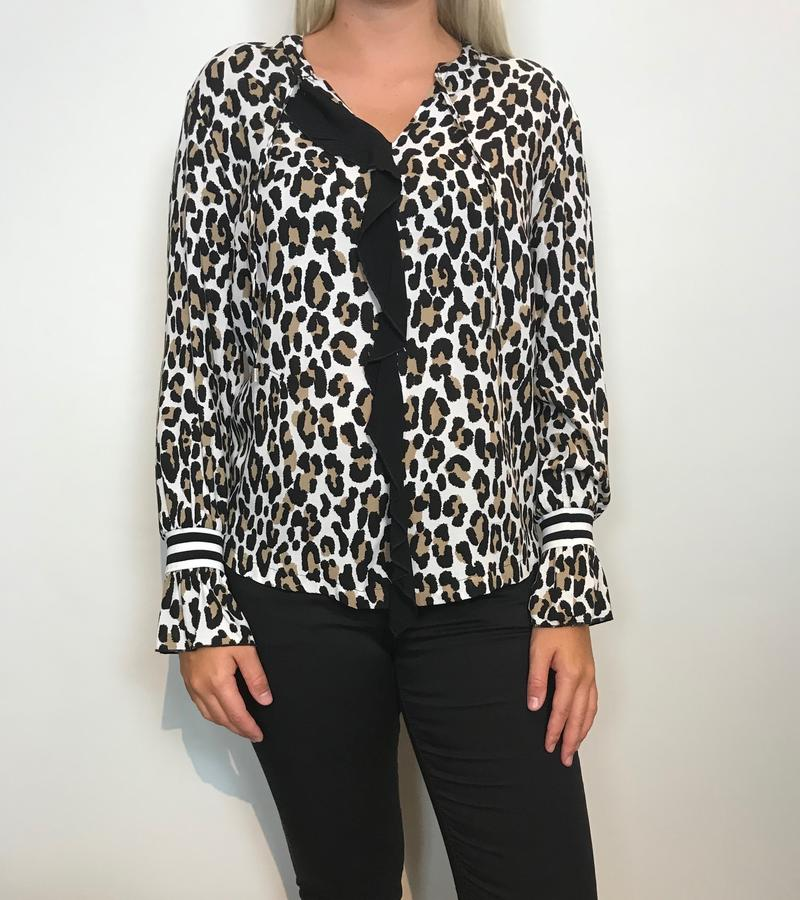 ONE-TWO DINA LEOPARD BLUSE