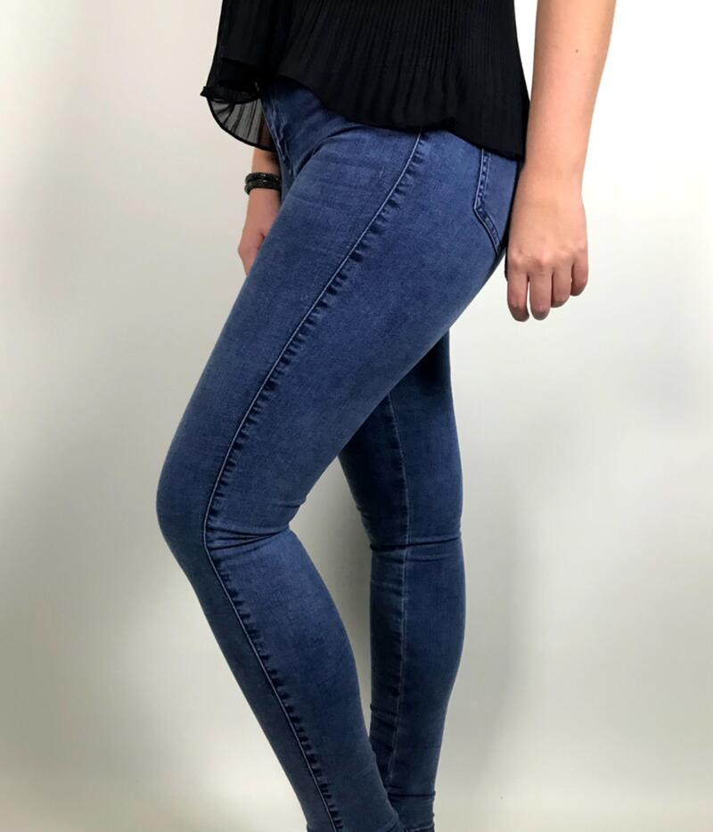 SOAKED DENIM JEGGINGS JEANS